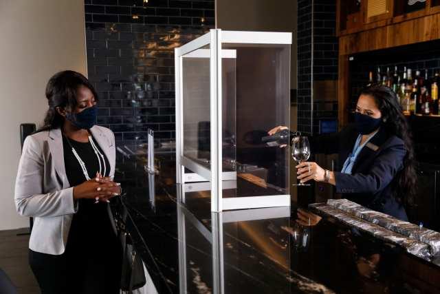 Amex Centurion Lounge reopening