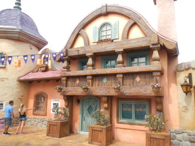 Now off to the new Tangled Toilets!