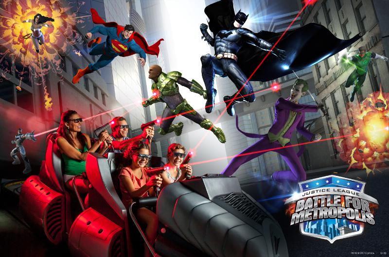 Six Flags Over Texas JUSTICE LEAGUE