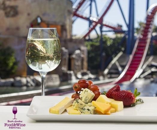 Busch Gardens Tampa announces menu for inaugural Food & Wine Festival