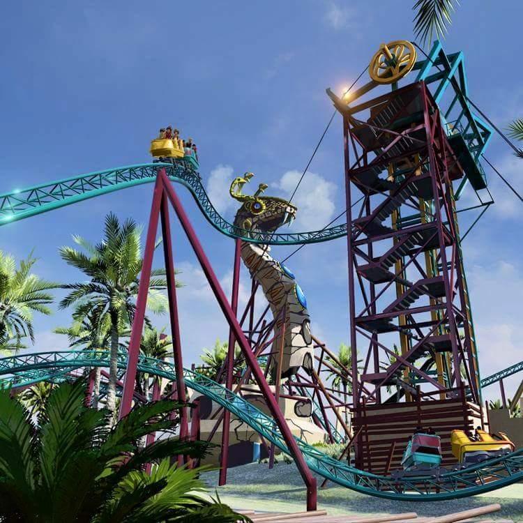 Busch Gardens Tampa announces Cobra's Curse family roller coaster for 2016 1