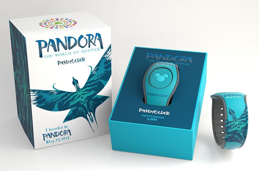 Walt Disney World Passholder Pandora - The World of Avatar MagicBand 2