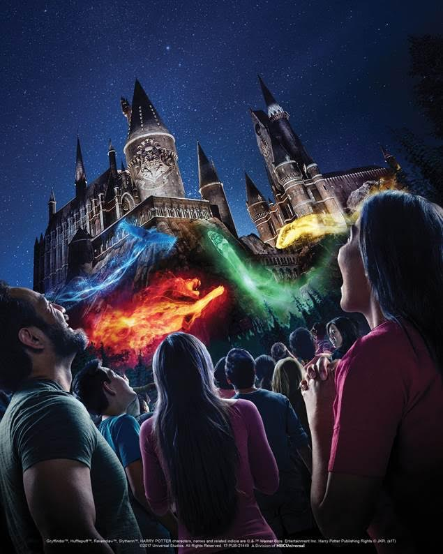 """The Nighttime Lights at Hogwarts Castle"" coming to Universal Studios Hollywood"