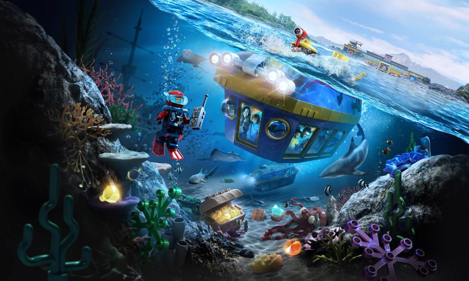 Legoland California Deep Sea