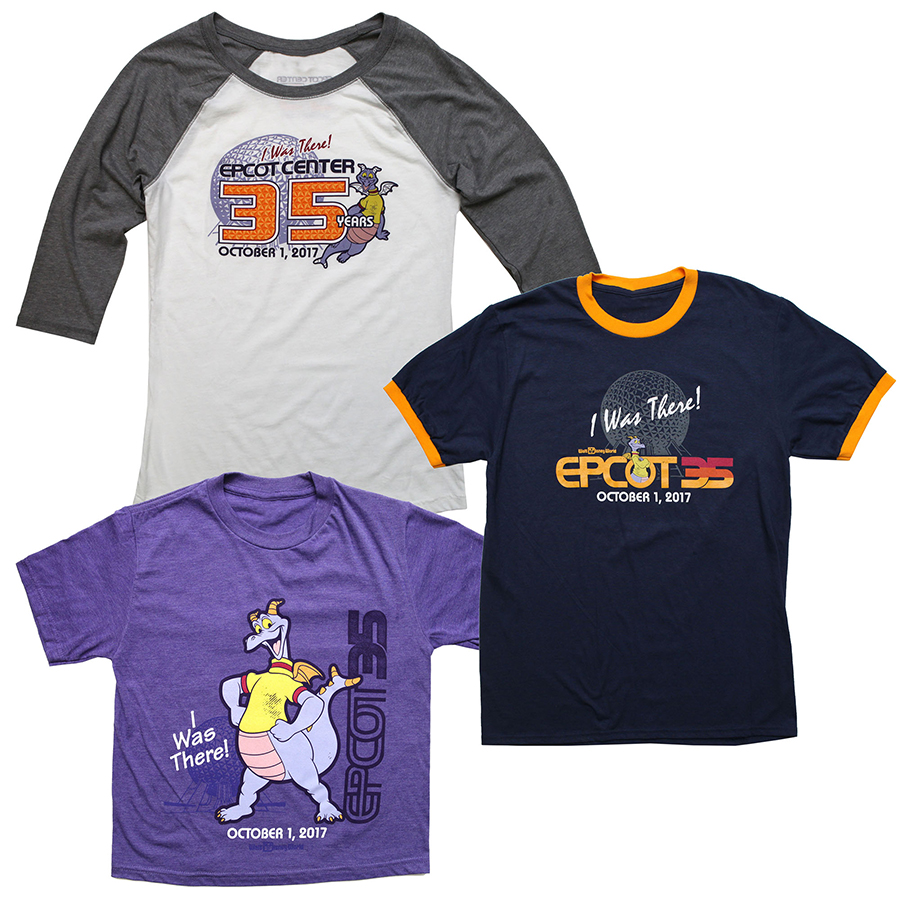"""The Epcot """"I was there"""" 35th merchandise"""