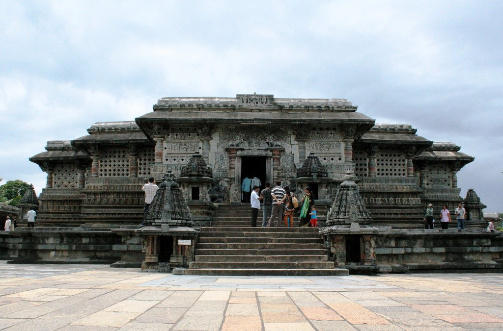 Chennakesava Temple, Belur Image Credits: Senthil Prabhu, via Flickr under CC by NC 2.0