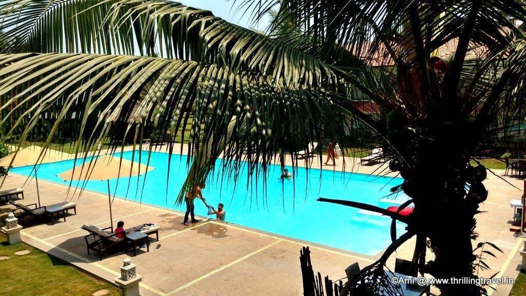 Pool at U Tropicana Resort, Alibaug