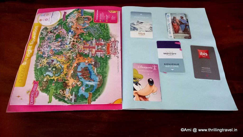 Travel Scrap Book for kids