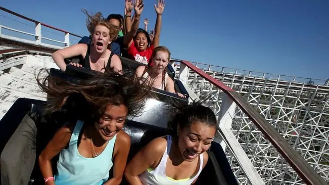 Six Flag Magic Mountain's 'Colossus' Roller Coaster Is Set to Close, Protesters Try and Save It