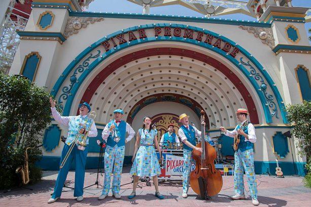 Pixar Promenade at Pixar Pier at Disney California Adventure park