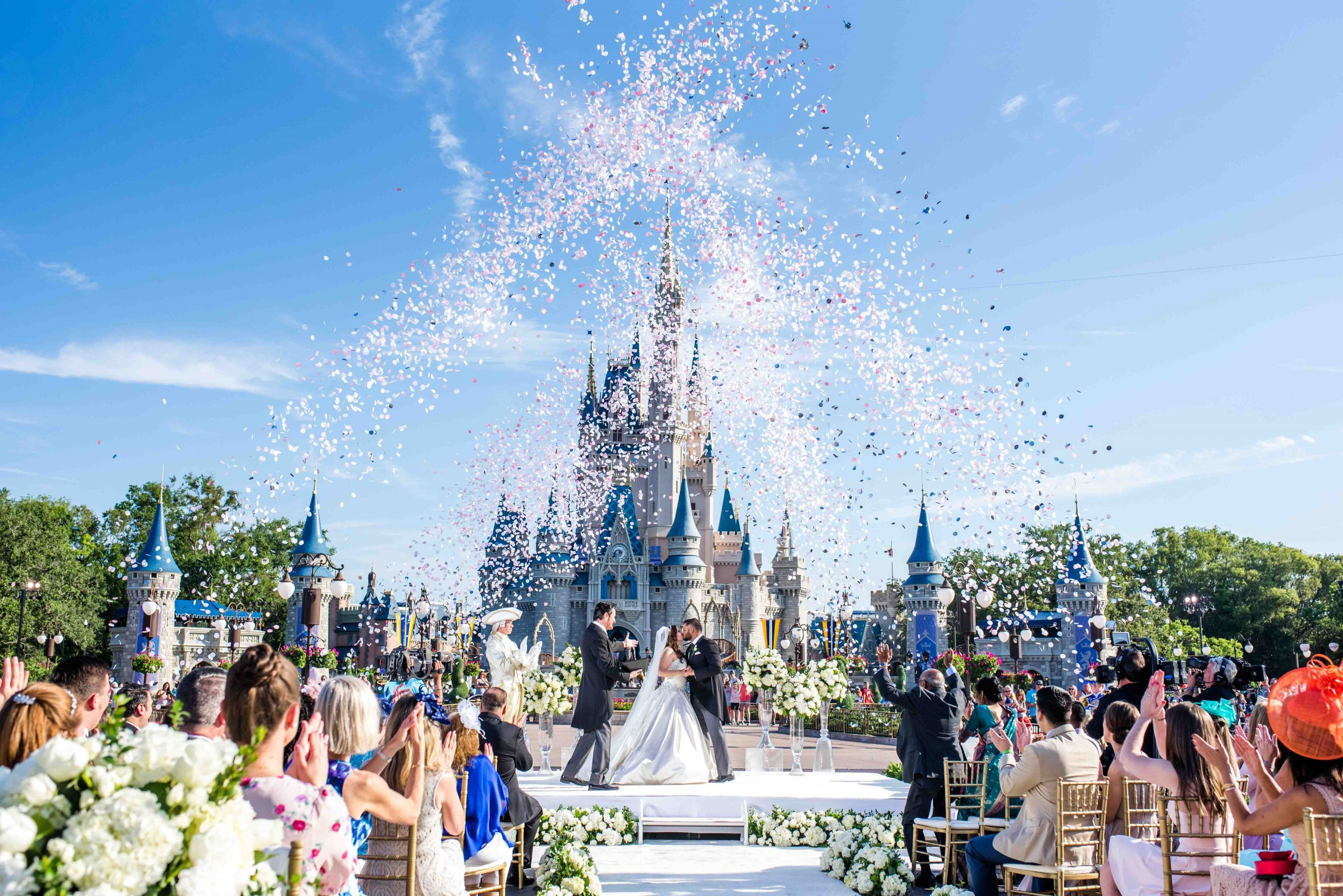 Texas Couple Celebrates Happily Ever After With Their Own Royals-Inspired Wedding at Walt Disney World Resort