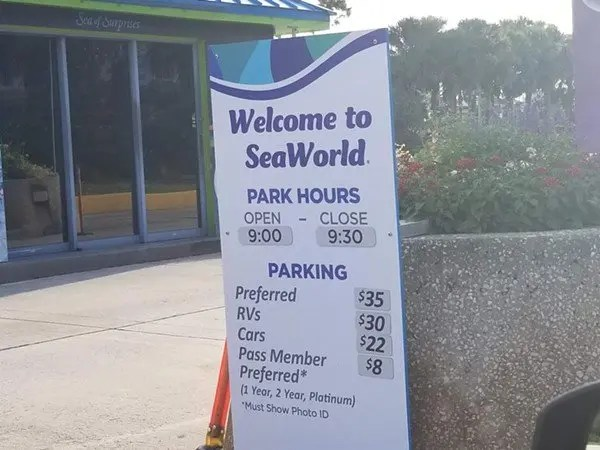 SeaWorld's new parking costs make completely no sense