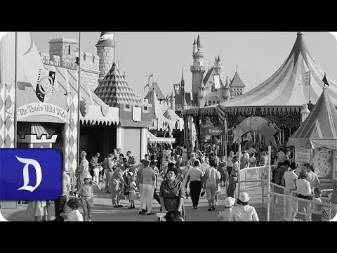 Disneyland Park Favorite Attractions from 1955