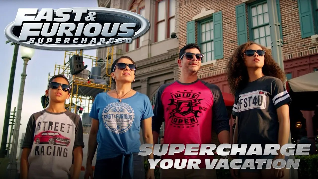 Supercharge Your Vacation | Fast & Furious – Supercharged