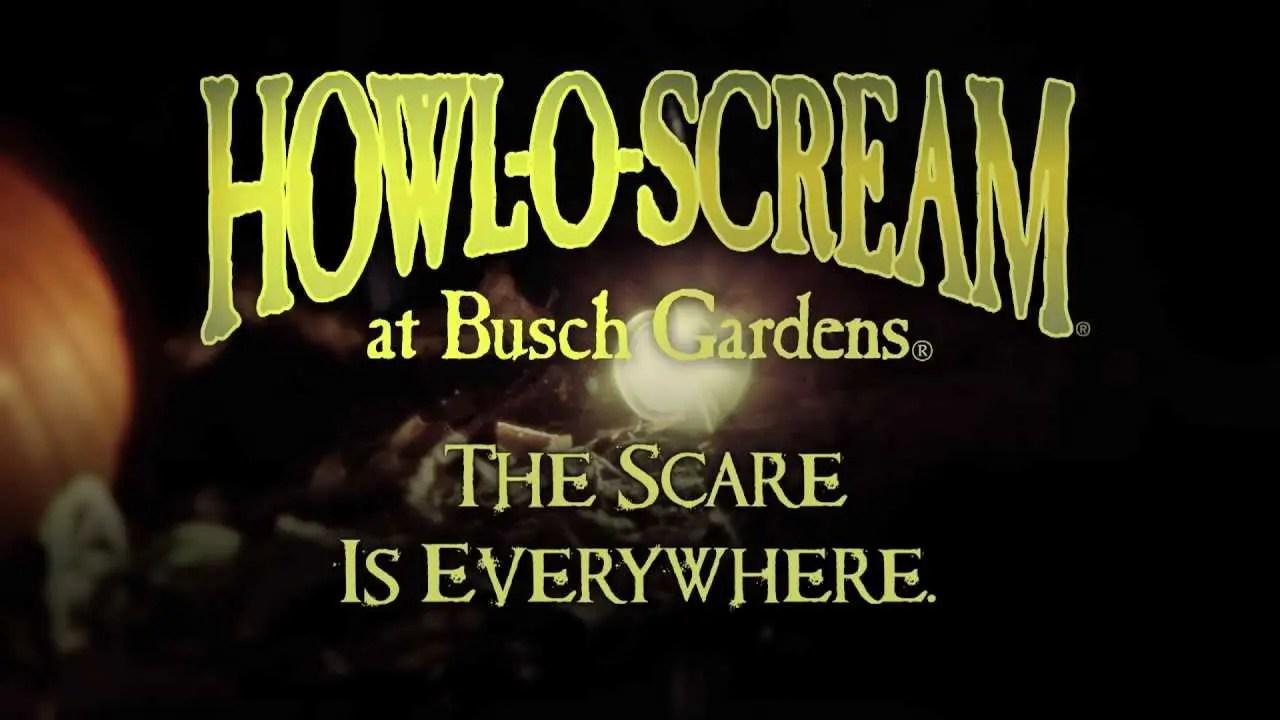 Howl-O-Scream The Scare is Everywhere   Busch Gardens Williamsburg, VA