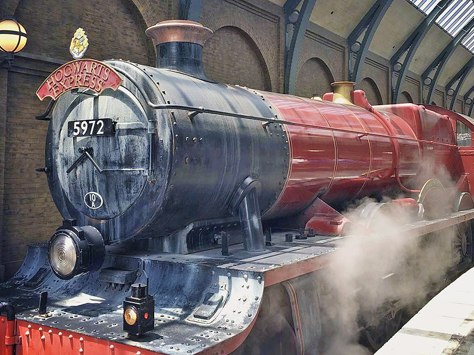 Hogwarts Express in The Wizarding World of Harry Potter