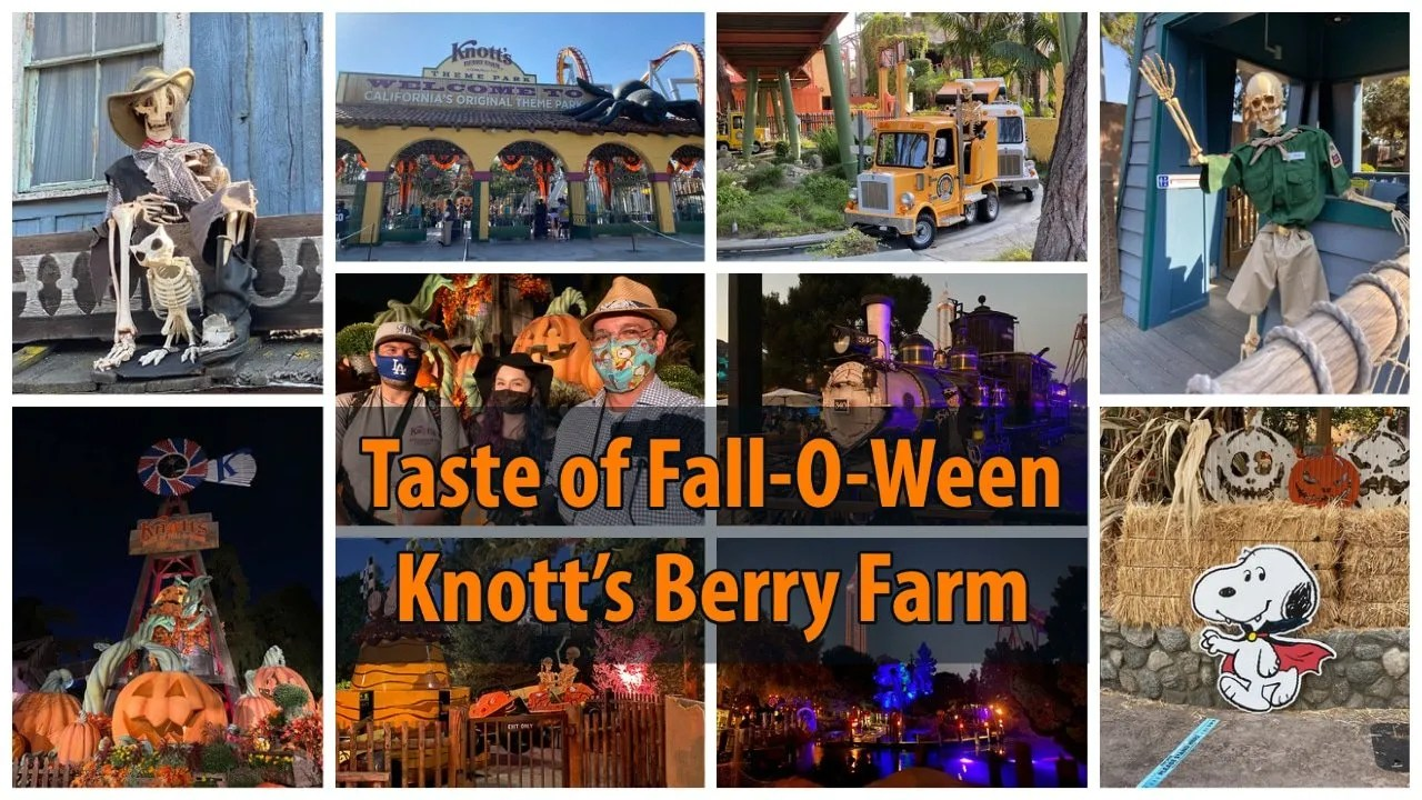 Knott's Berry Farm's Taste of Fall-O-Ween is the Halloween Party We Never Knew We Needed!