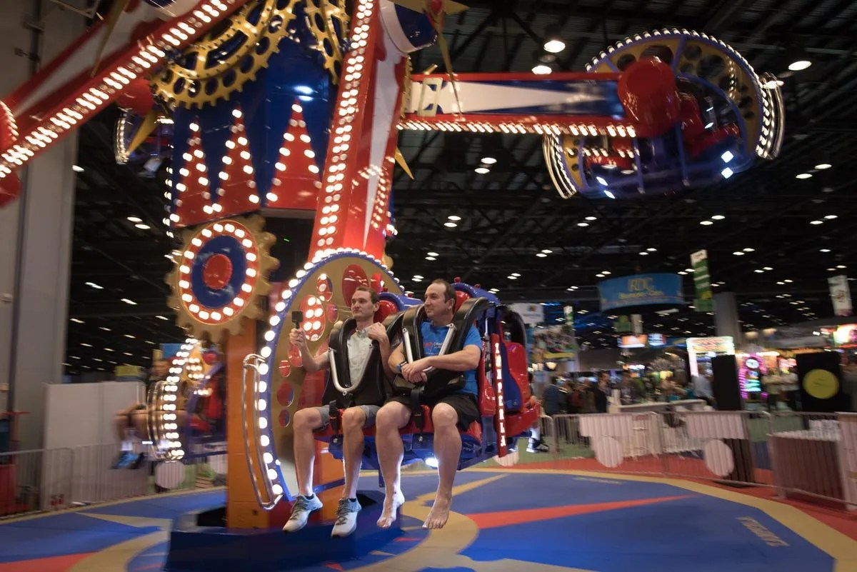 Theme park ride builders won't come to huge Orlando convention this year – Orlando Sentinel