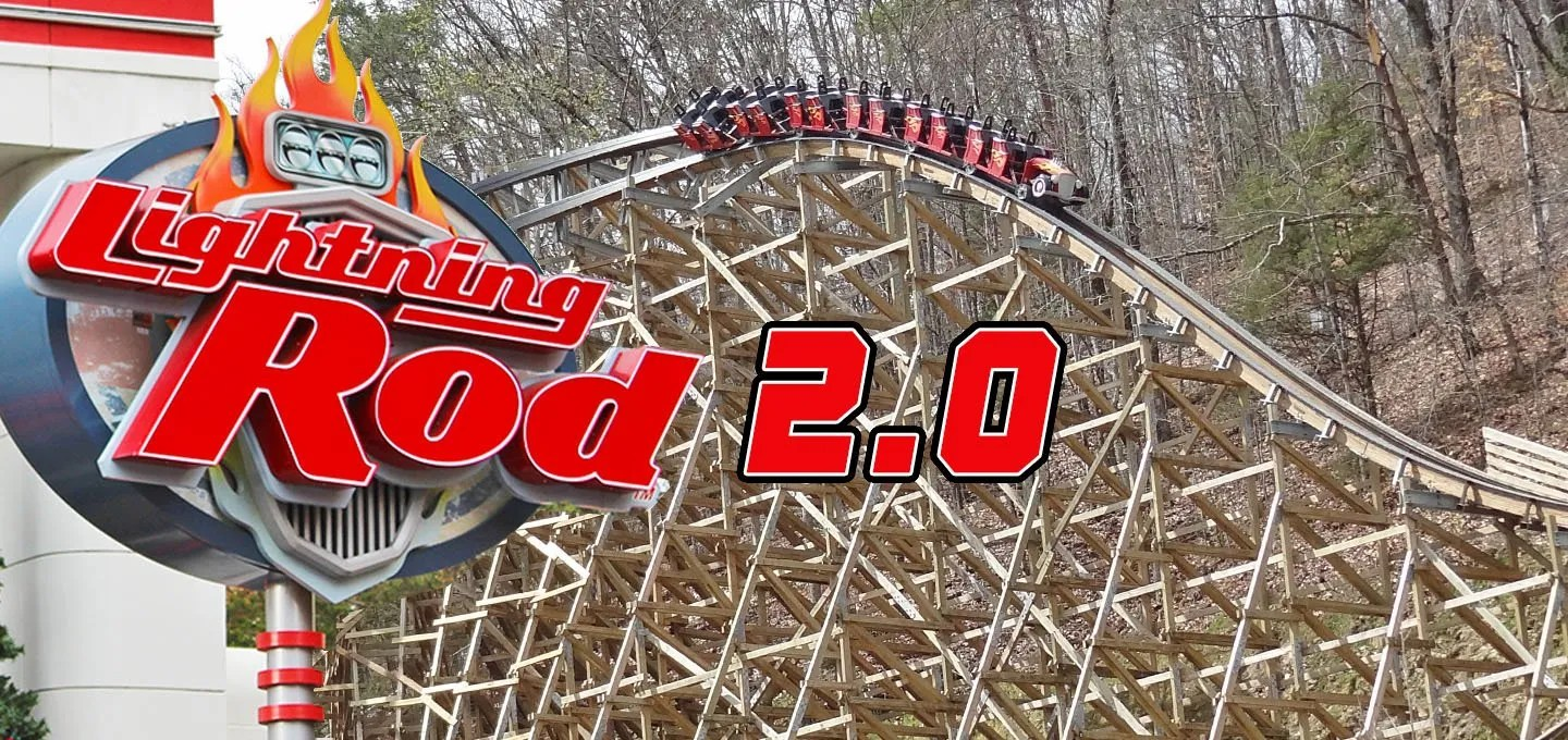 Lightning Rod at Dollywood Receiving New Track in 2021