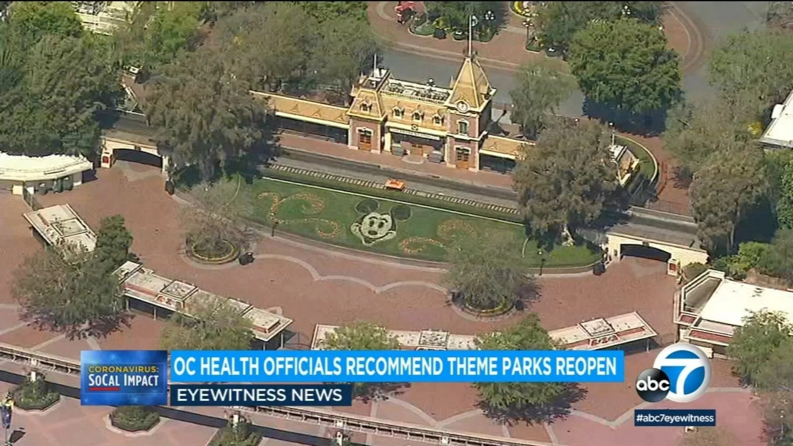 Orange County health officials recommend Disneyland, Knott's Berry Farm, other theme parks reopen