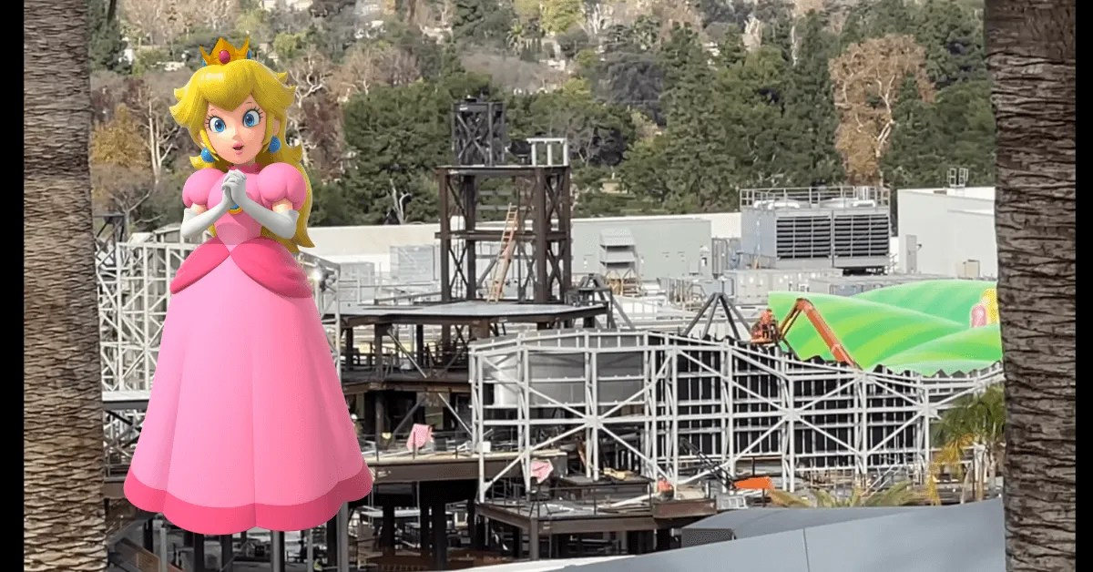 Universal Hollywood's Super Nintendo World Is Moving Quickly!