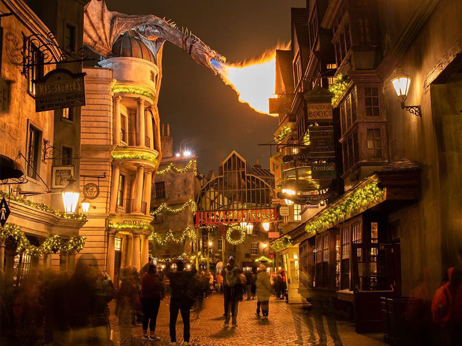 Christmas in The Wizarding World of Harry Potter