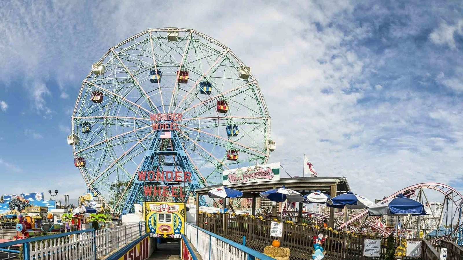 COVID NYC Update: Luna Park, Deno's Wonder Wheel in Coney Island ready to welcome back guests