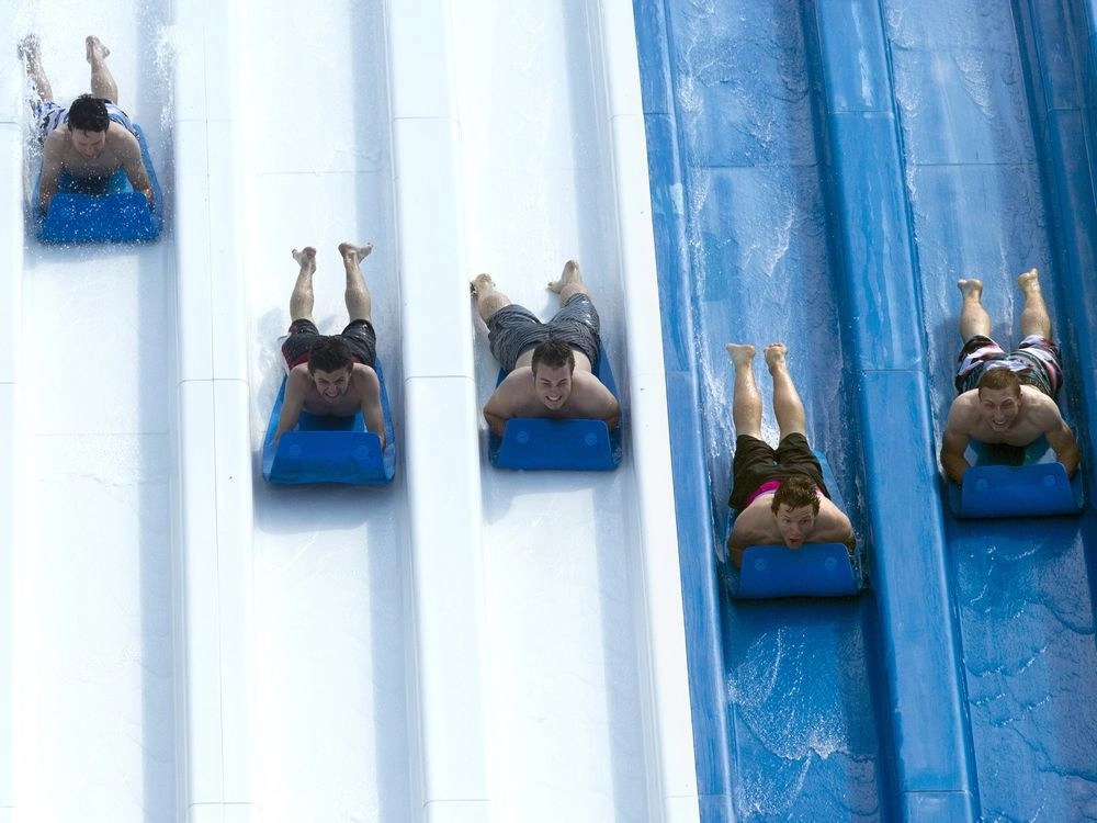 Calypso water theme park reopens with COVID-19 precautions