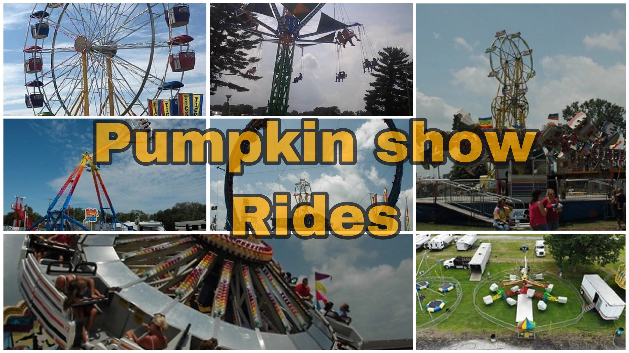 Circleville Pumpkin Show Will Have New Thrill Rides this Year