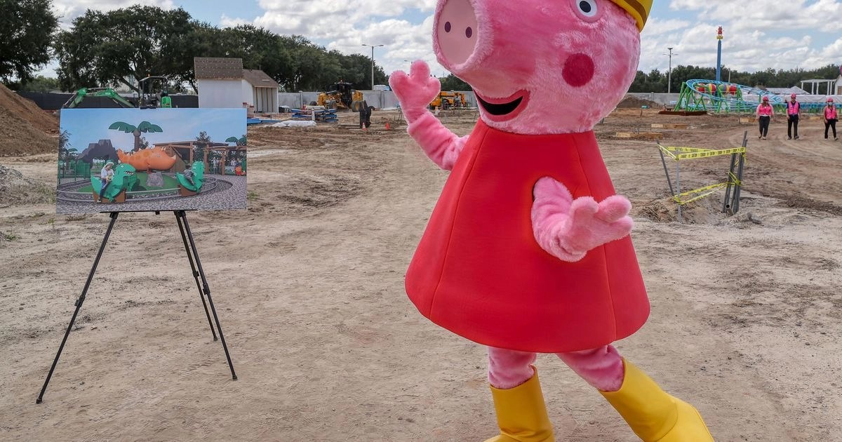 Peppa Pig is getting her own theme park – Atlanta Journal Constitution