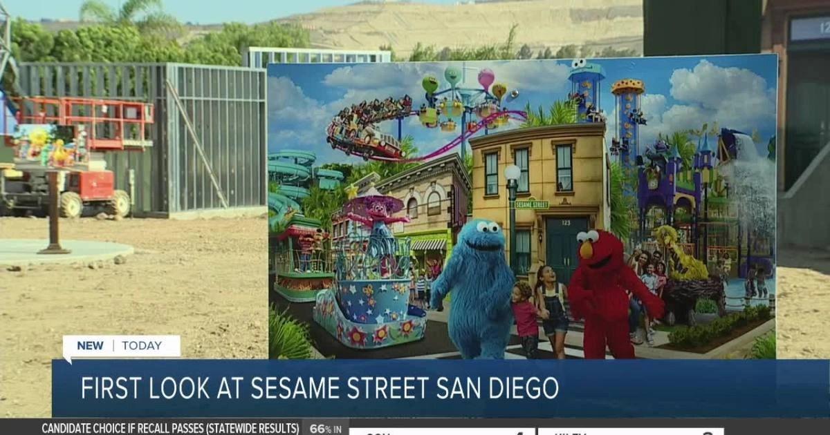 SeaWorld's Sesame Place San Diego theme park begins to take shape
