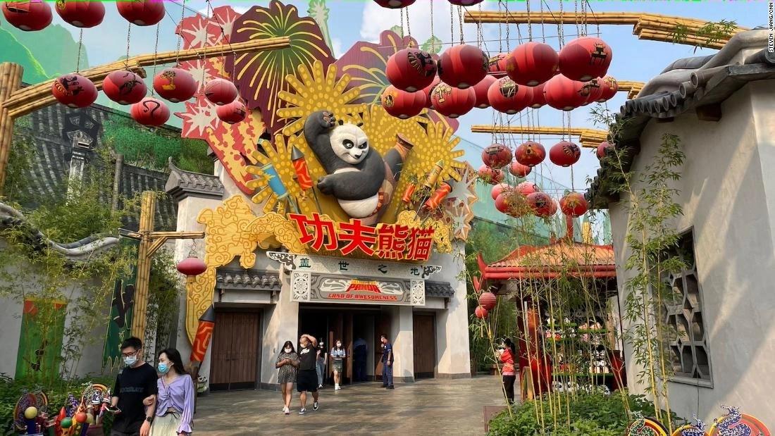Sneak peek: Universal Studios Beijing to open this month
