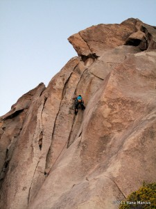 Selecting Gear on Popular Mechanics in Joshua Tree NP