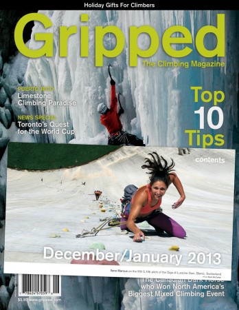 thrillseekers anonymous in gripped magazine climbing diga di luzzone