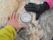 Geological Survey Summit Marker, The Grand Teton - Thrillseekers Anonymous