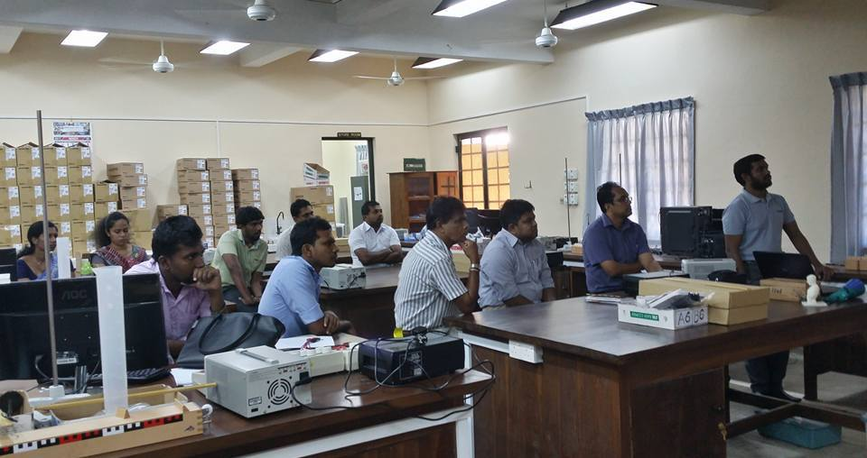 Workshop on 3D printing at University of Ruhuna