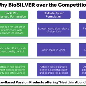 Why BioSILVER 1