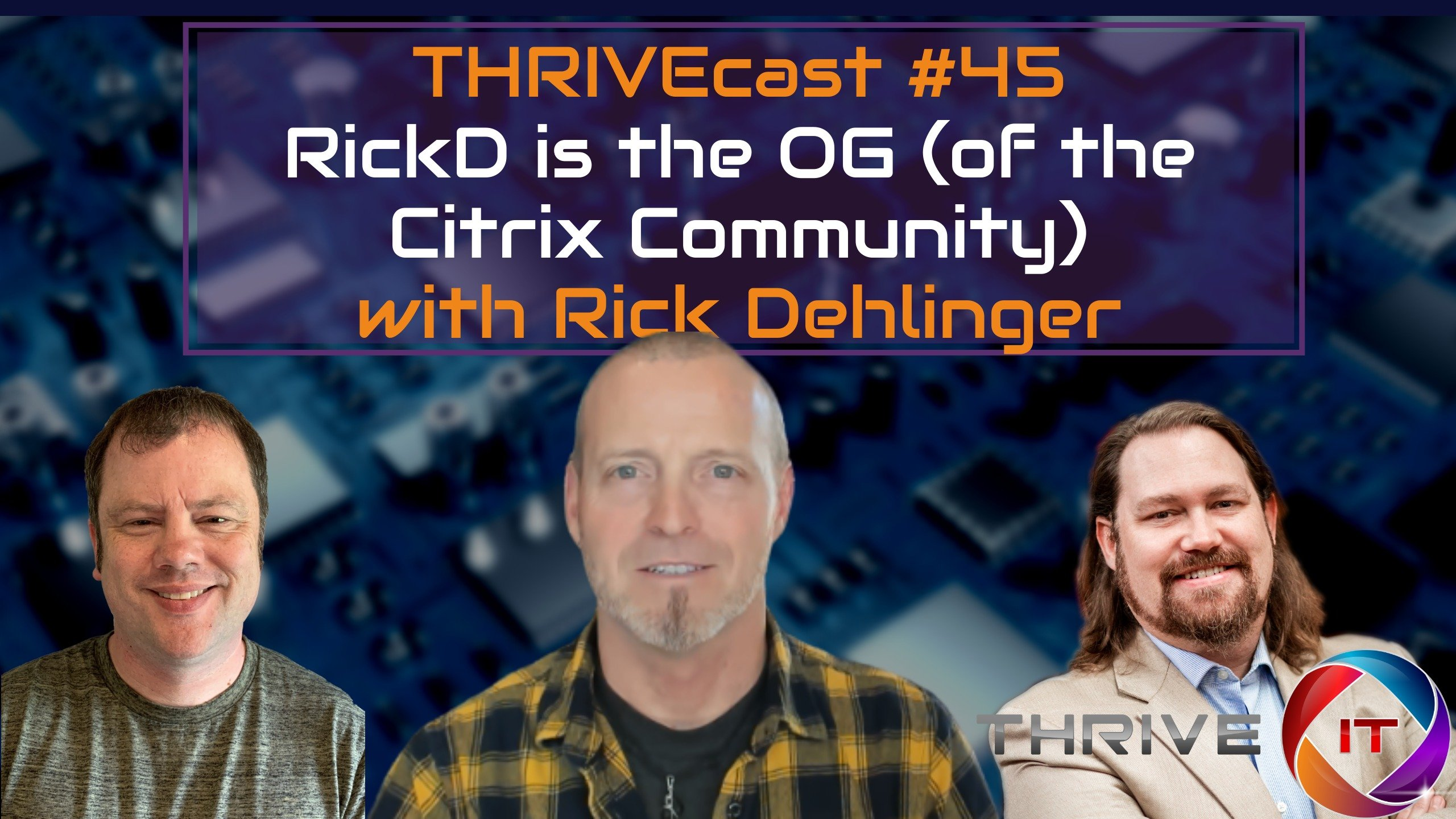 THRIVEcast 45 Banner image