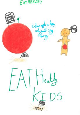 Eat healthy kids!