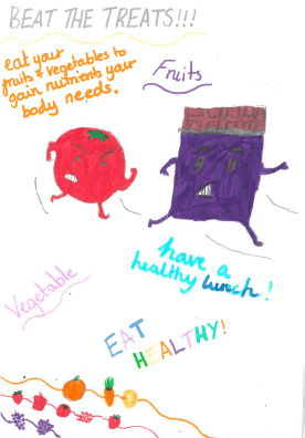 Beat the treats - have a healthy lunch