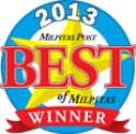 2013 Best of Milpitas Winner