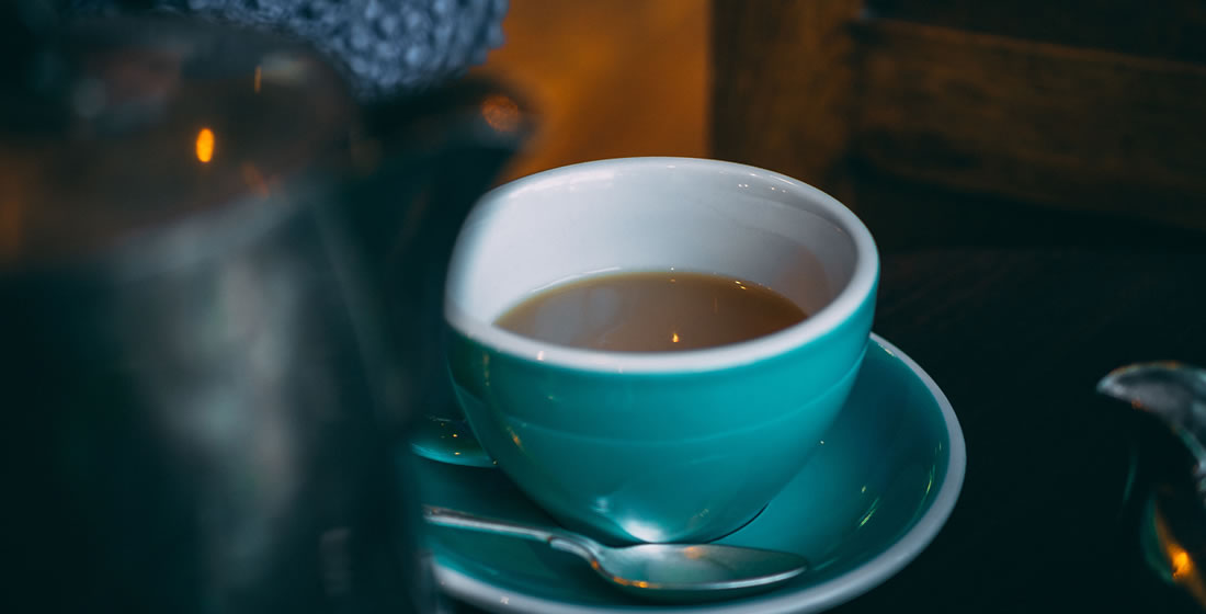 A cup of tea - a good stress reliever
