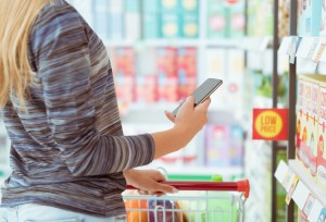 Frequency Millennials Use Smartphones While Shopping