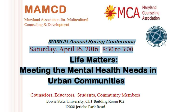 mamcd annual spring conference