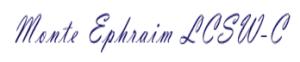 Monte Ephraim LCSW-C