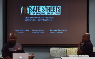 Investing in Prevention = Investing in Baltimore