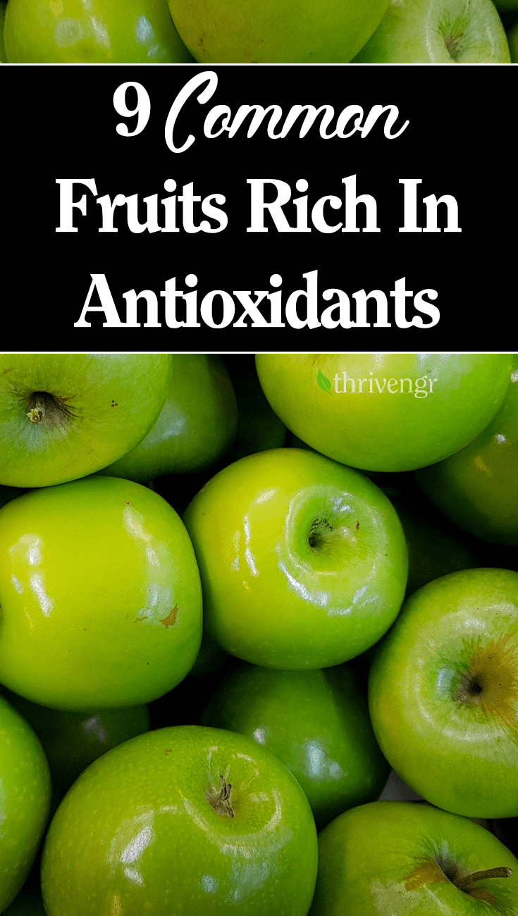 antioxidants rich fruits