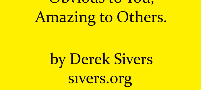 derek_sivers_obvious_amazing