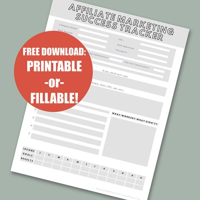 Free Affiliate Success Tracker Download