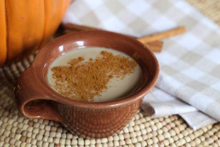 Homemade crock pot pumpkin latte. This recipe is EASY to make and is my go-to drink when entertaining in the fall or winter. Made with REAL ingredients from your pantry. Everyone loves it and amazed that it is made in a slow cooker.